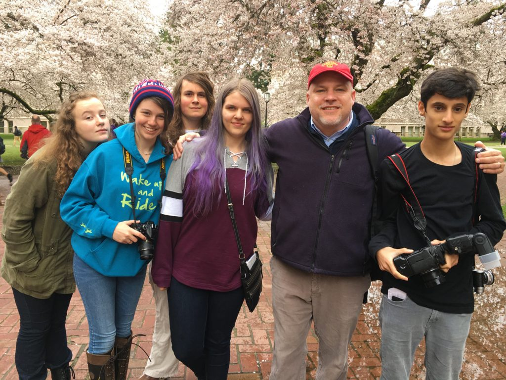 US Students with Head of School
